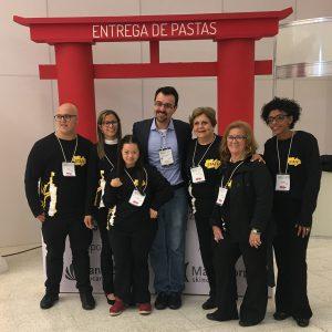 Dr. Mauricio Mendonça com equipe de apoio