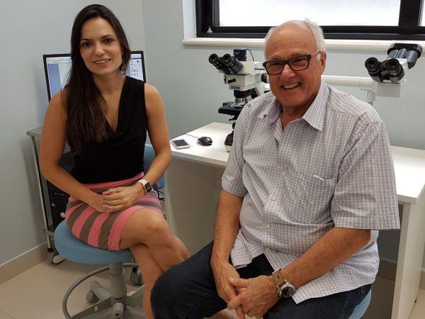 Dra. Mariana Meireles e Dr. Nilceo Michalany